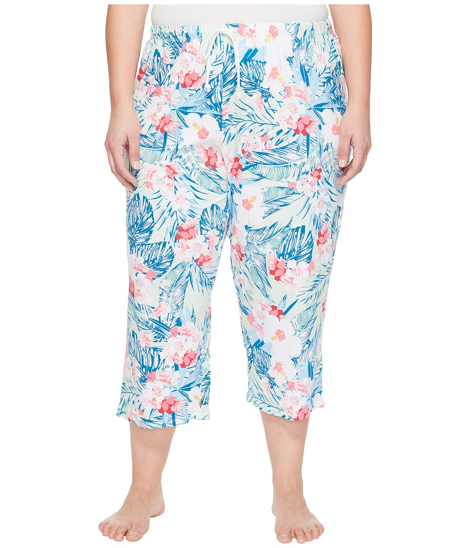 Jockey - Plus Size Capri Pants (Tropicana) Women's Pajama