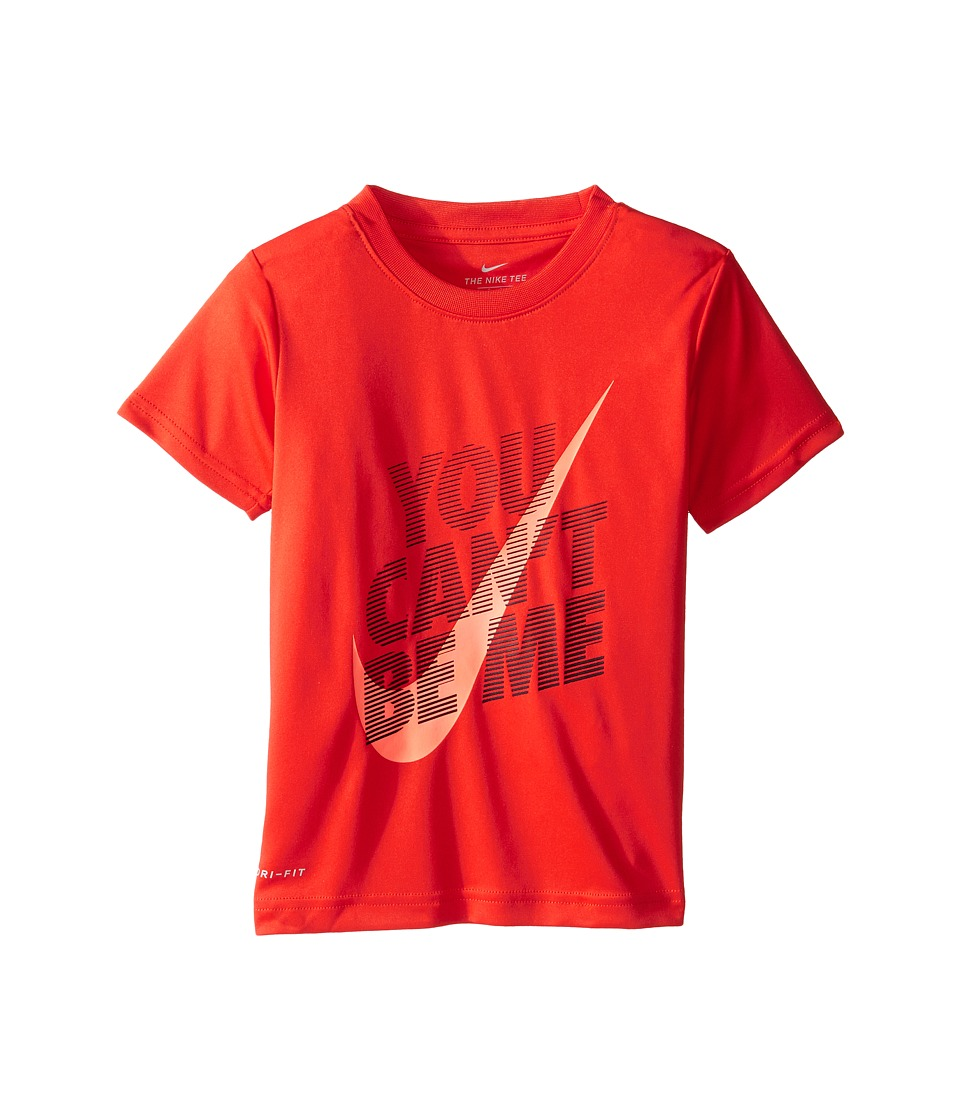 Nike Kids - You Can't Be Me Dri-Fit Tee (Little Kids) (Max Orange) Boy's T Shirt