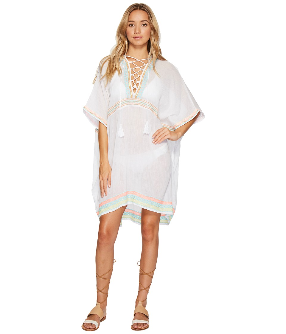 Vitamin A Swimwear - Isabell Short Caftan Cover-Up (Las Brisas Gauze) Women's Swimwear