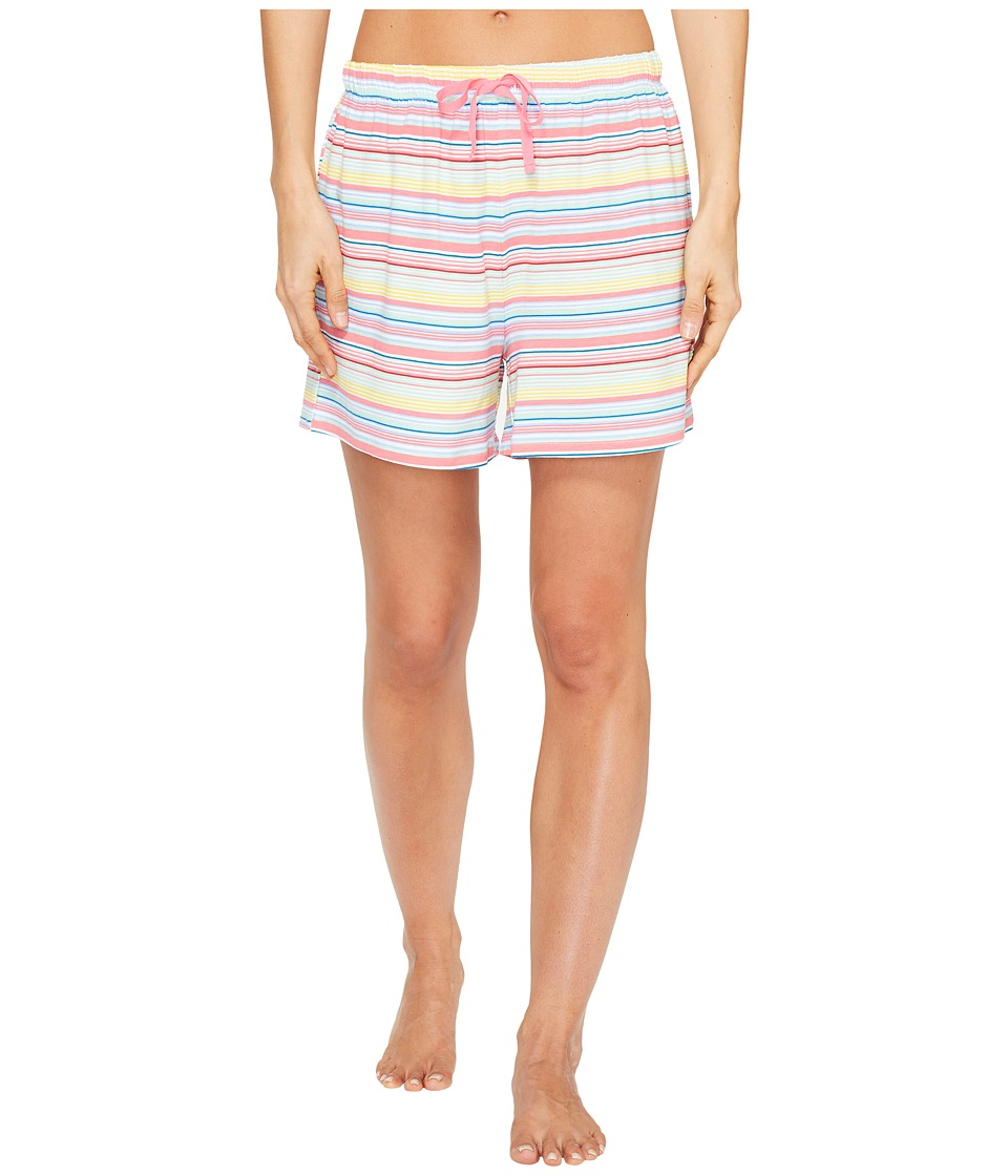 Jockey - Striped Boxer (Sunset Stripe) Women's Pajama