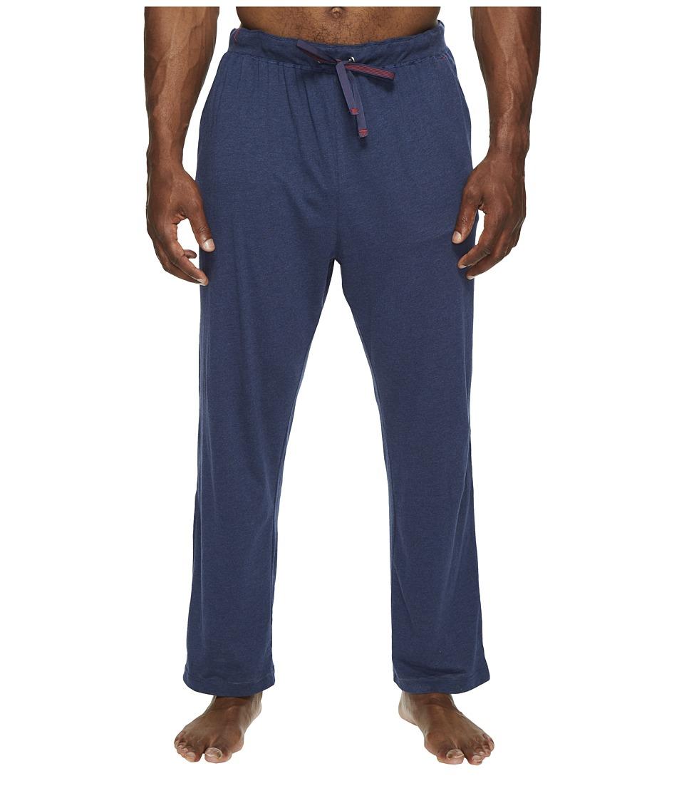 Tommy Bahama - Big Tall Knit Pants (Indigo Heather) Men's Pajama