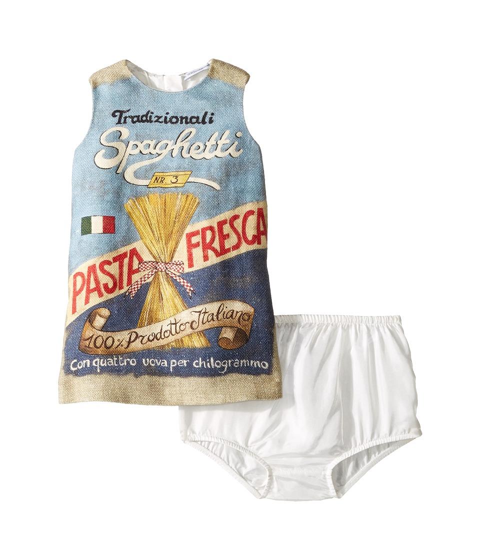 Dolce & Gabbana Kids Spaghetti Dress