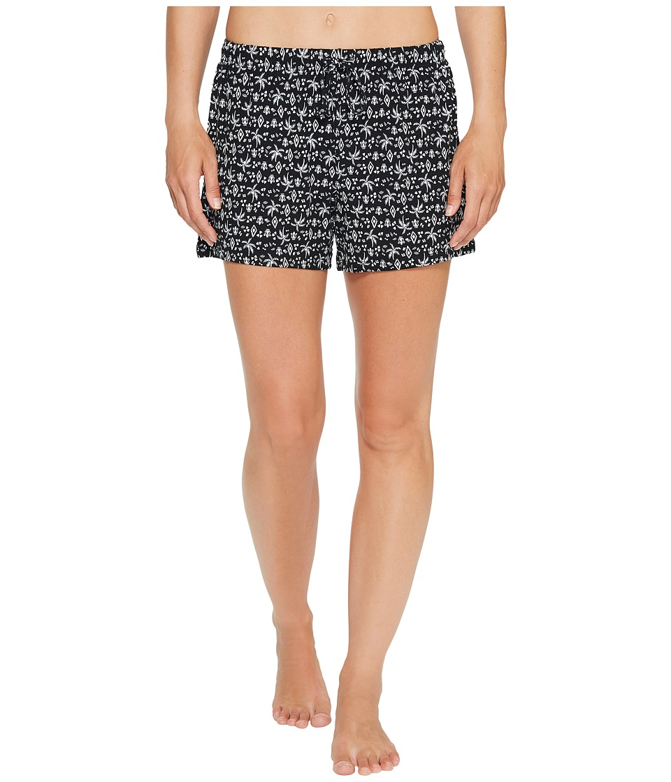 Jockey - Palm Tree Printed Boxer (Palm Tree Toss) Women's Pajama