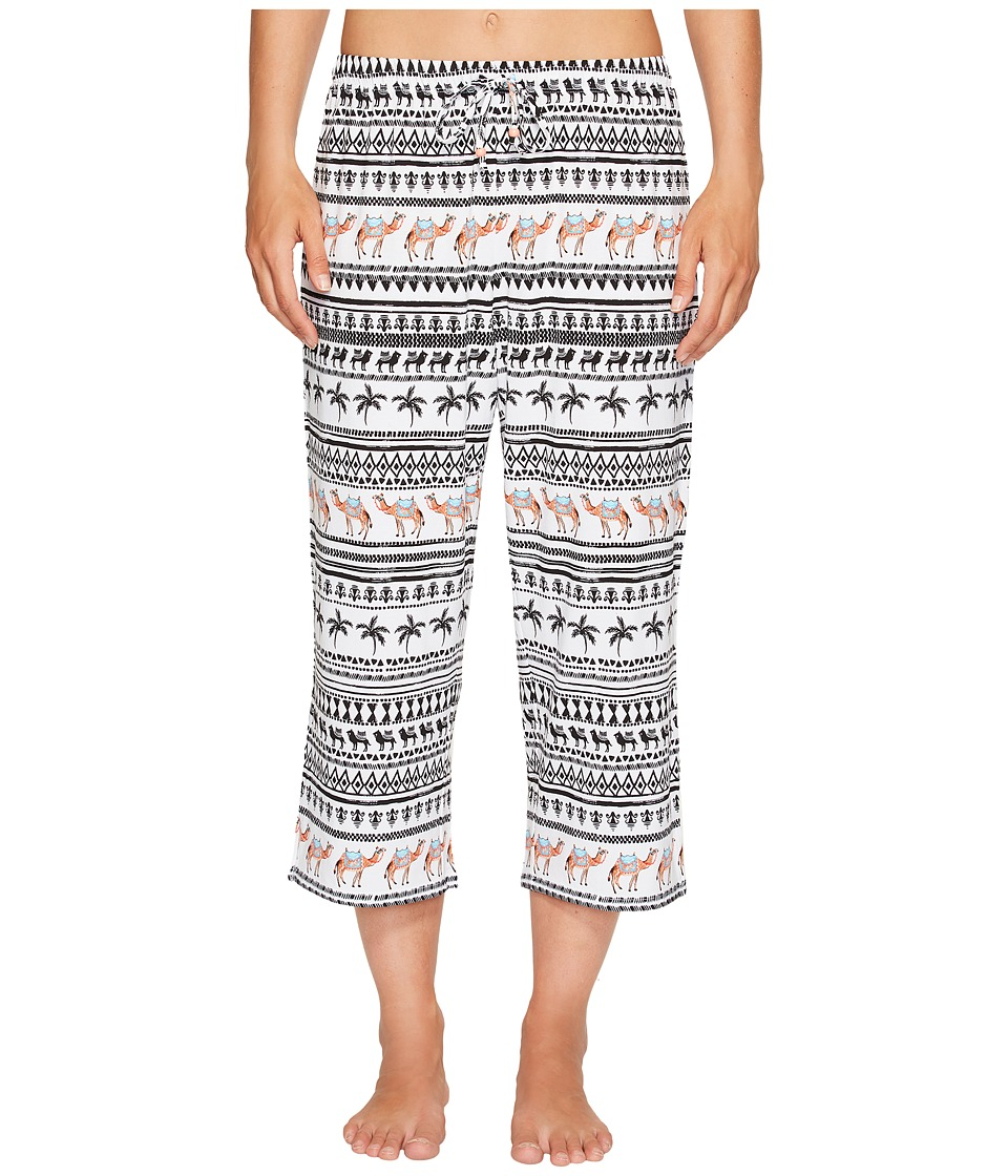 Jockey Printed Capris (Spice Route) Women