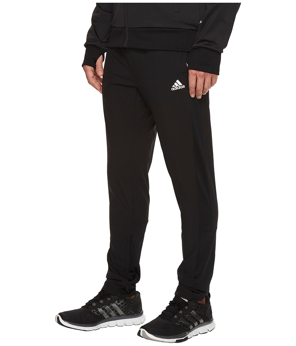 adidas - Sport ID Woven Pants (Black) Men's Casual Pants