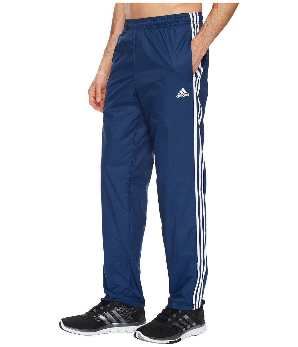 adidas - Essentials 3S Wind Pants (Collegiate Navy/Collegiate Navy/White) Men's Casual Pants