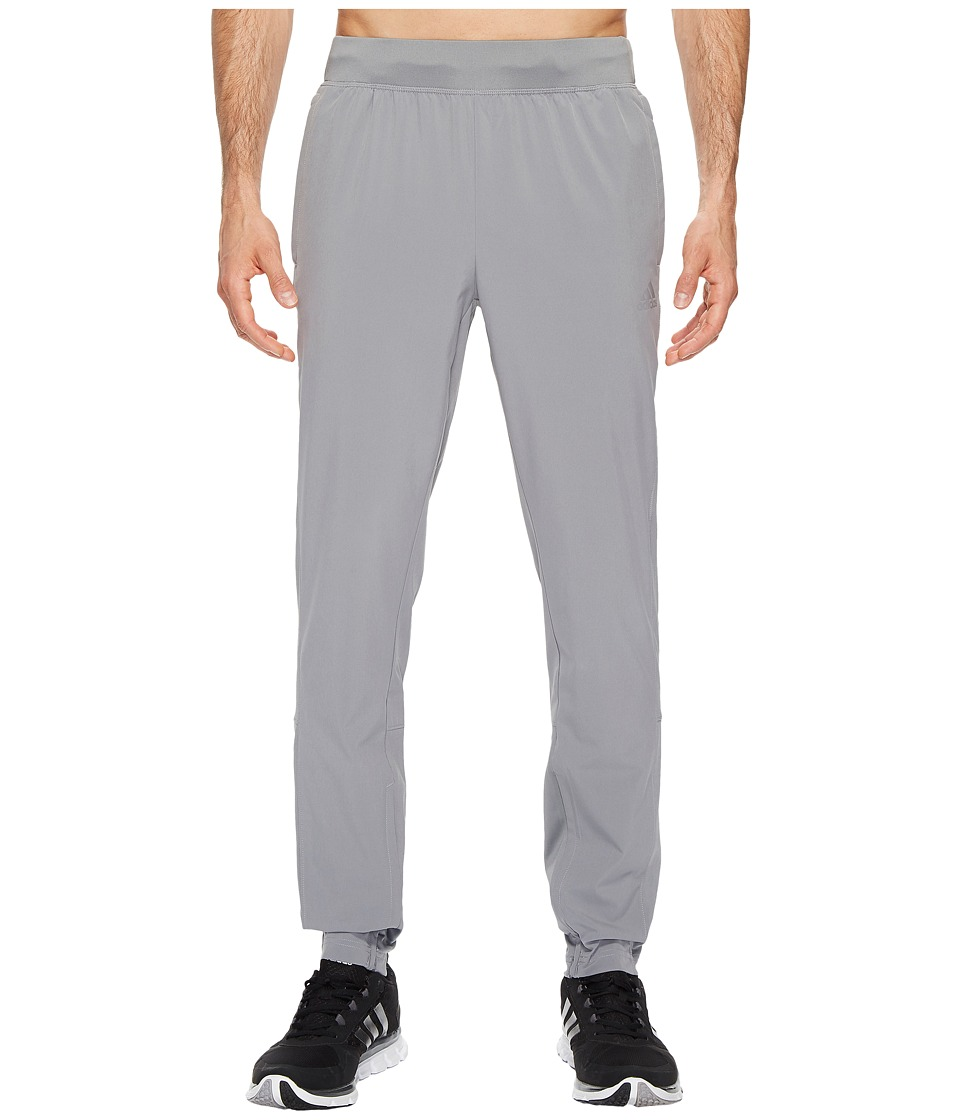 adidas - Sport ID Woven Pants (Grey Three F17) Men's Casual Pants