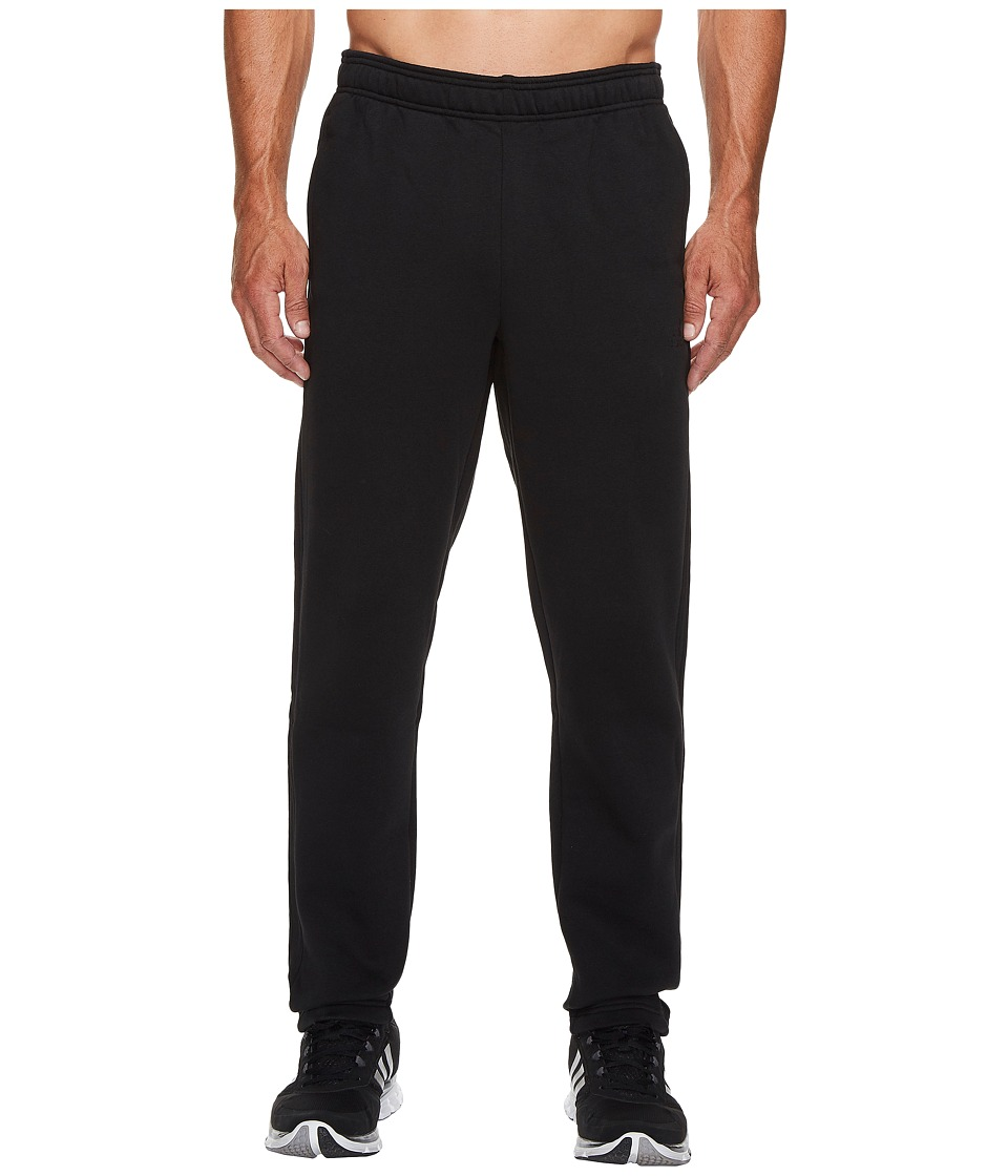 adidas - Essentials 3S Tapered Fleece Pants (Black/Black) Men's Casual Pants
