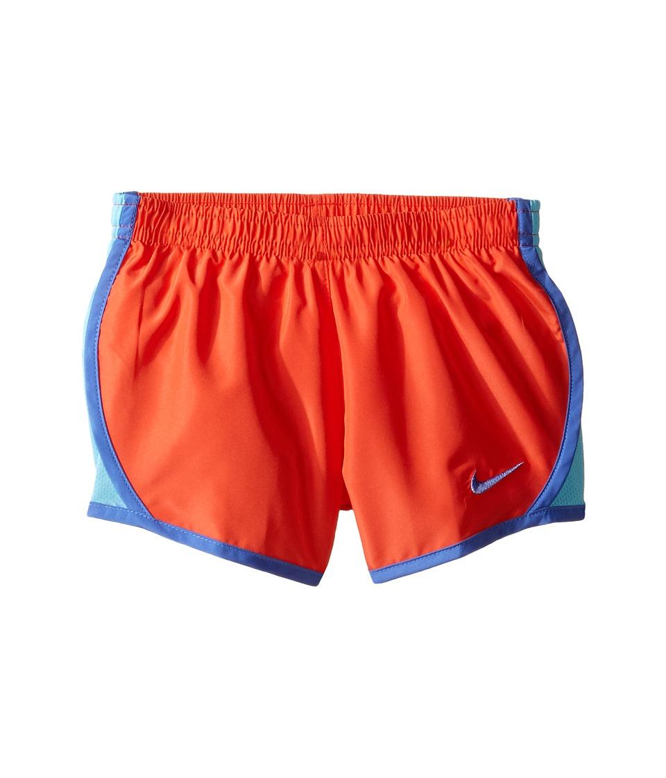 Nike Kids - Tempo Short (Toddler) (Max Orange) Girl's Shorts