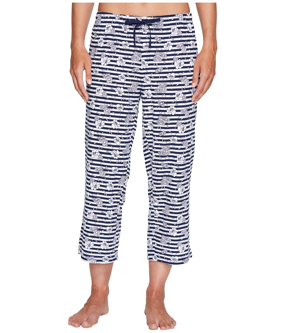 Jockey - Capri Pants (Daisy Stripe) Women's Pajama