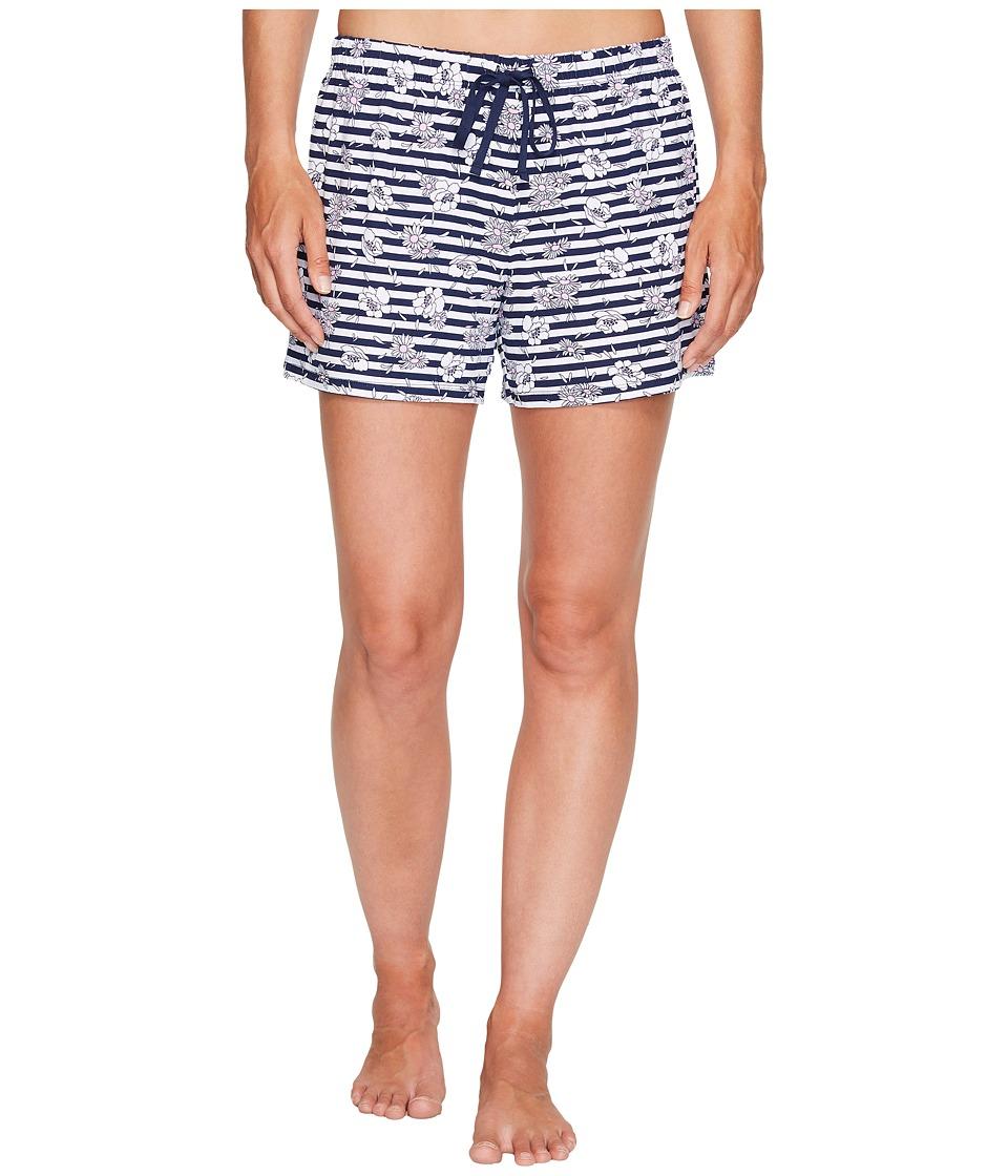 Jockey - Printed Boxer (Daisy Stripe) Women's Pajama