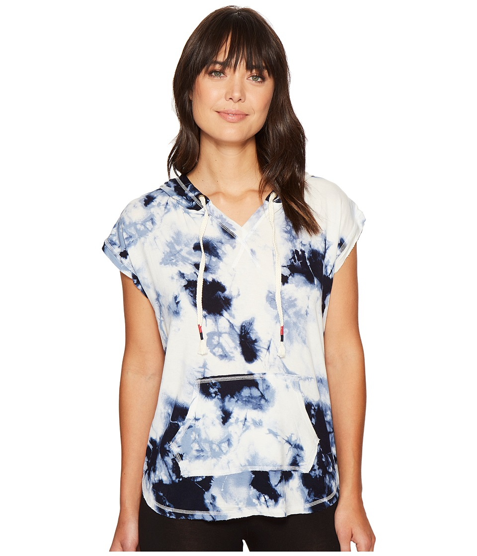 Lucky Brand - Relaxed Hoodie (Muse Tie-Dye) Women's Pajama