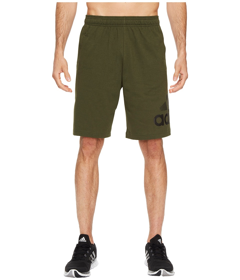 adidas - Jersey Shorts (Night Cargo F15) Men's Shorts