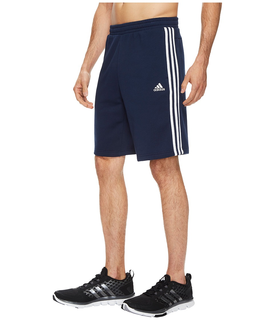 adidas - Essentials Cotton Shorts (Collegiate Navy/White) Men's Shorts