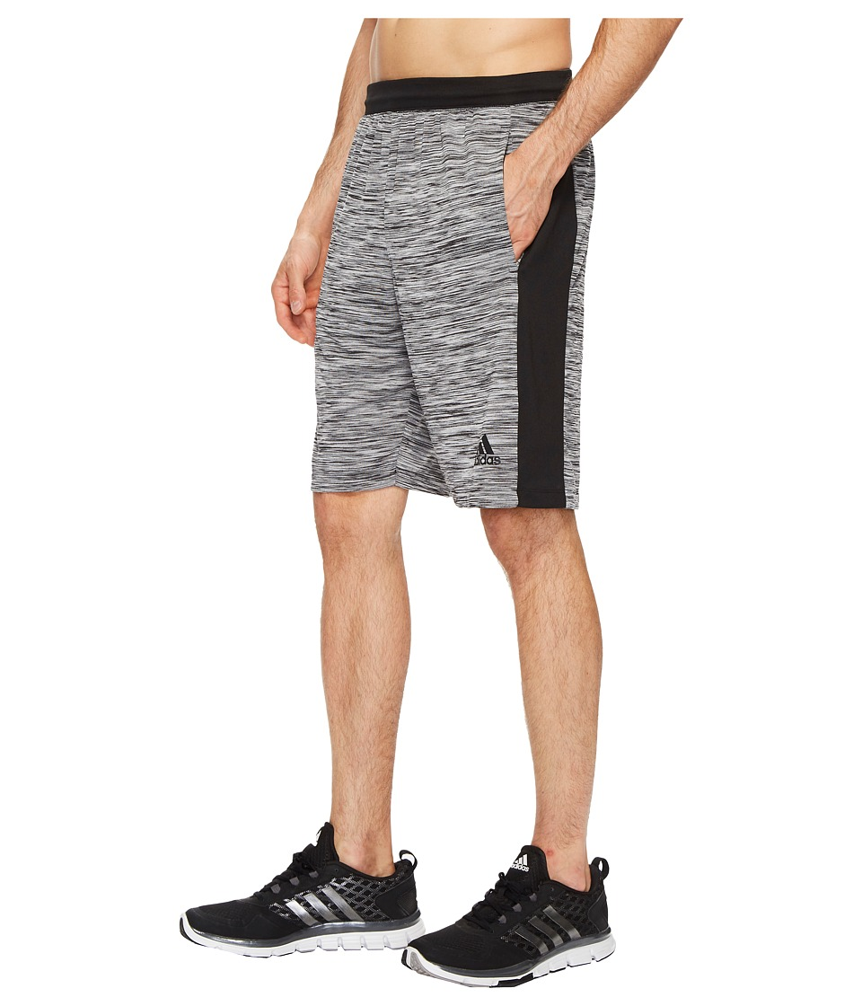 adidas Speedbreaker Tech Heather Shorts (Black) Men