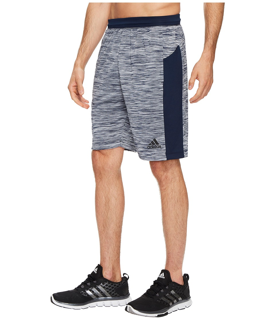 adidas - Speedbreaker Tech Heather Shorts (Collegiate Navy) Men's Shorts