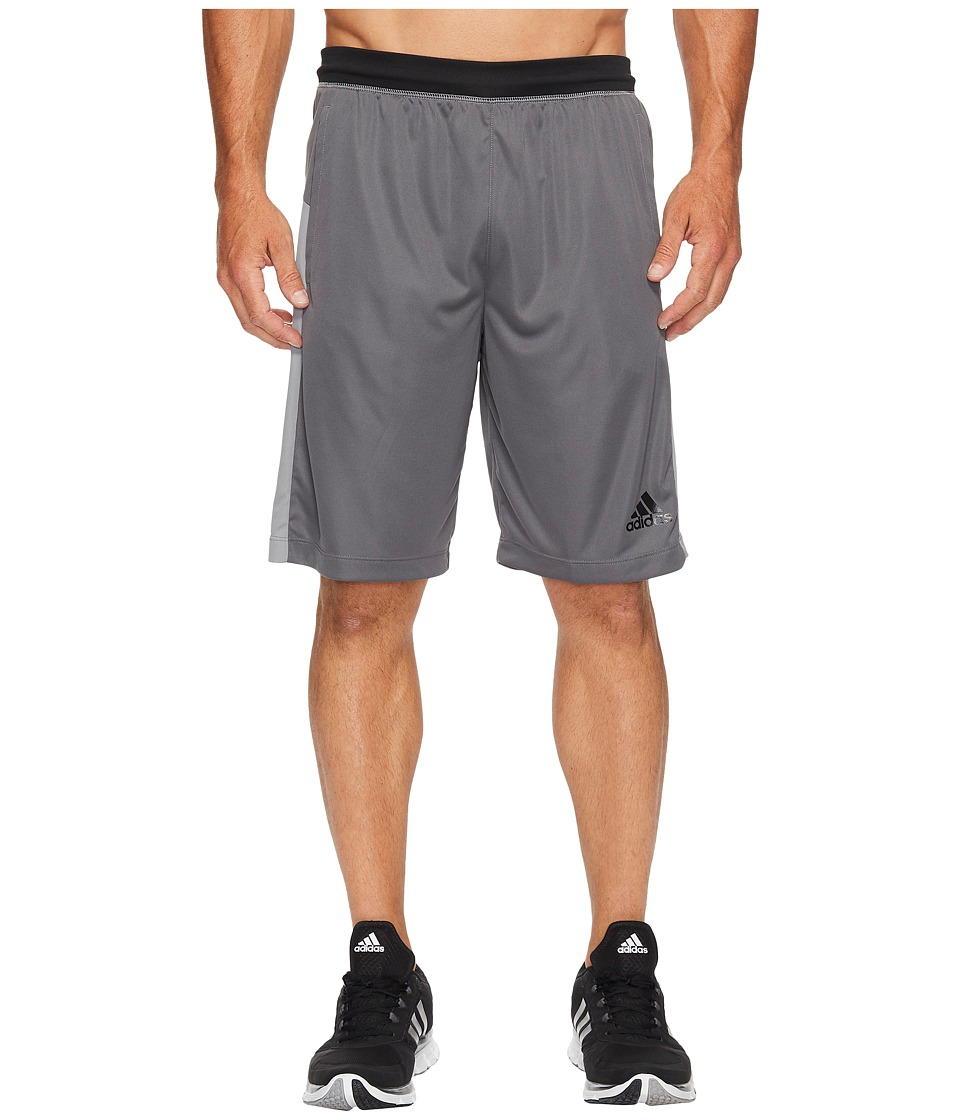 adidas - SpeedBreaker Tech Shorts (Grey Five F17/Grey Three F17) Men's Shorts