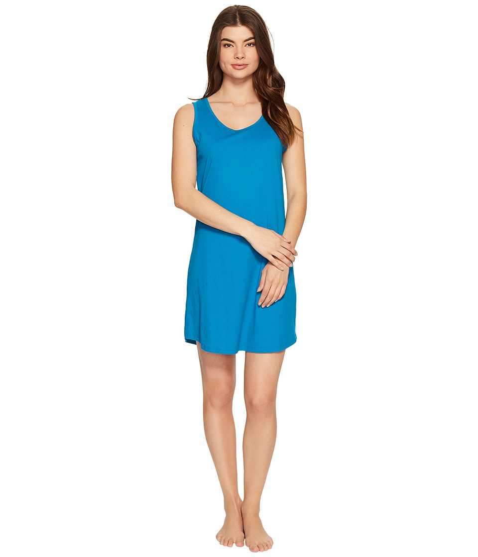 Jockey - Cotton Chemise (Teal) Women's Pajama