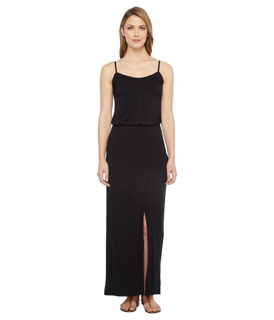 Culture Phit - Aviana Spaghetti Strap Maxi Dress (Black) Women's Dress