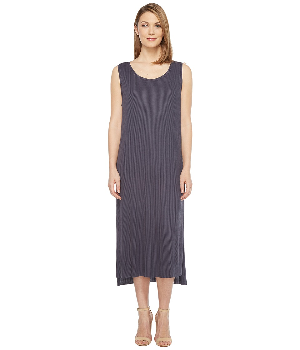 Culture Phit - Freja Sleeveless Dress with Front Knot (Navy) Women's Dress