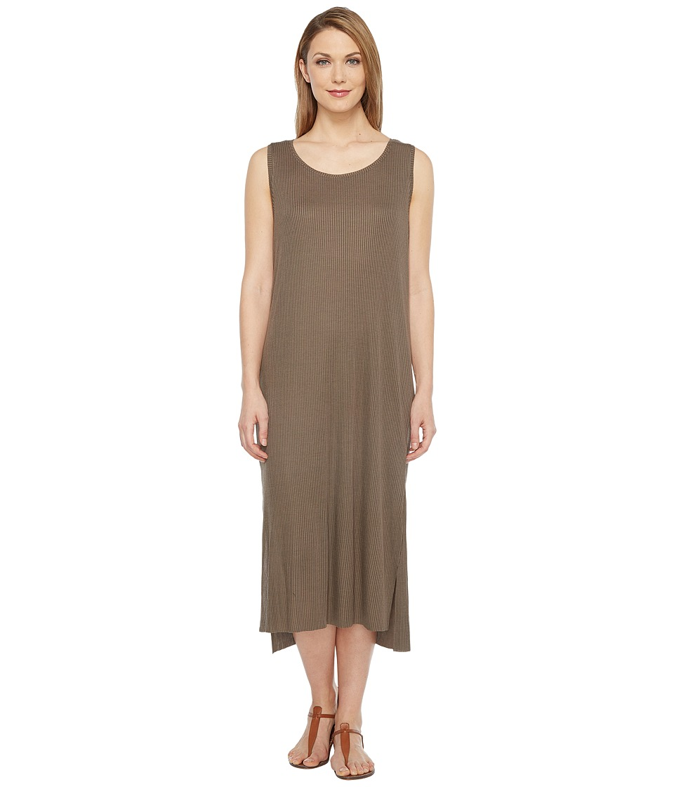 Culture Phit Freja Sleeveless Dress with Front Knot (Olive) Women