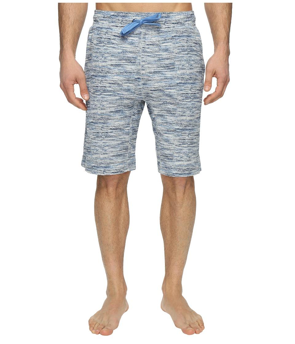 Tommy Bahama French Terry Jam Shorts (Multi Blue Print) Men