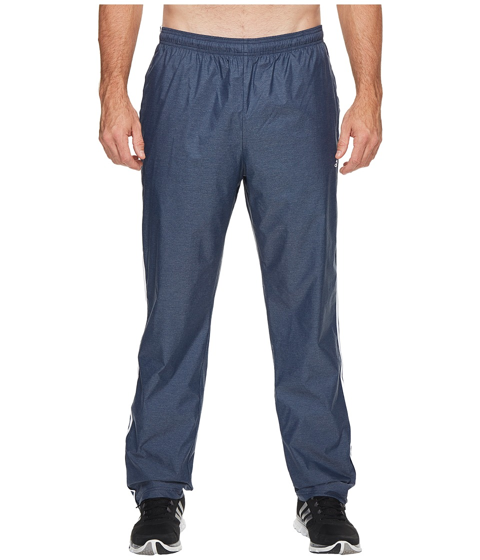 adidas - Big Tall Essentials 3S Wind Pants (Collegiate Navy/White) Men's Casual Pants