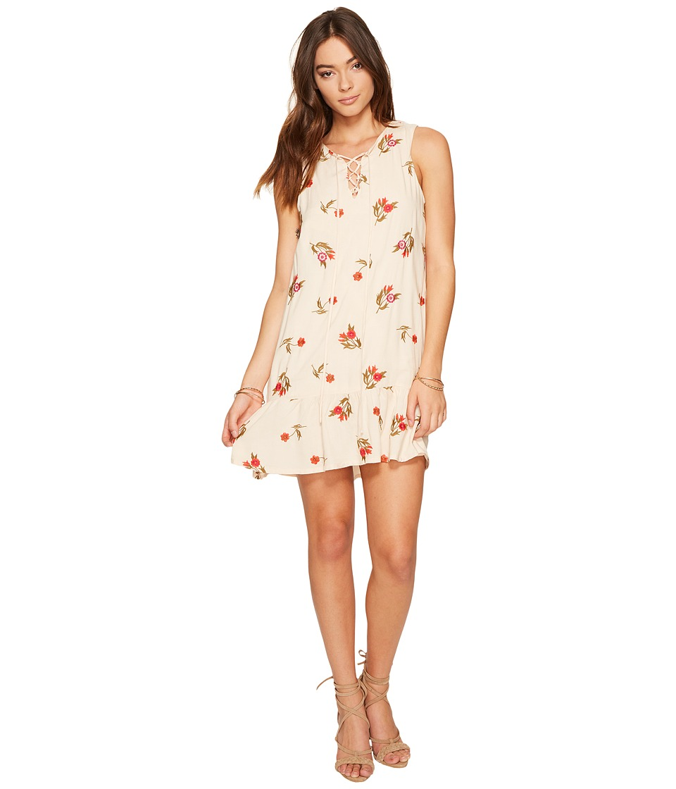 Lovers + Friends Cross My Heart Dress (Nude) Women