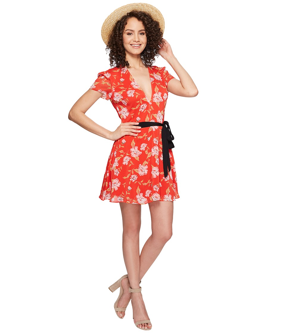 Lovers + Friends Cassidy Dress (South Beach Floral) Women