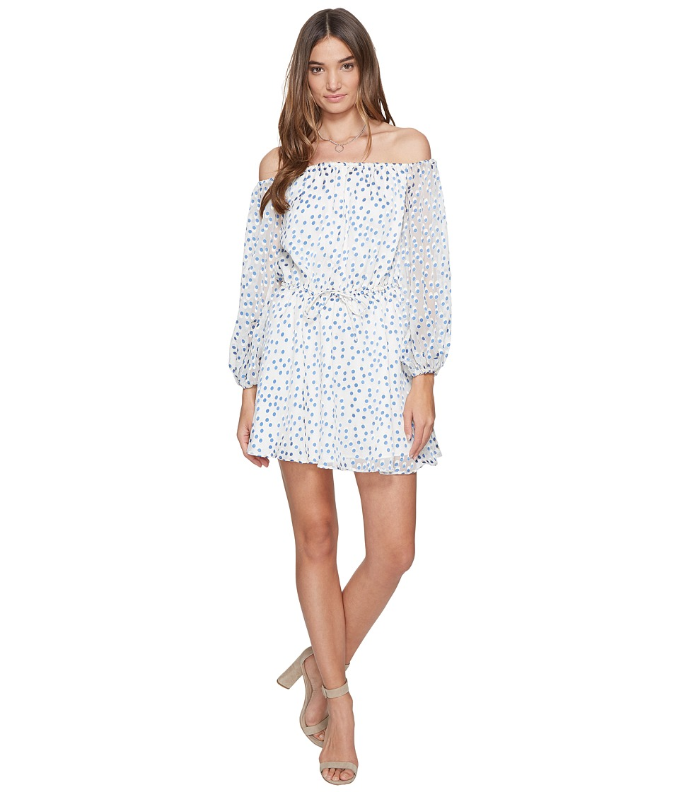 Lovers + Friends World Traveler Dress (Speckled Ocean) Women