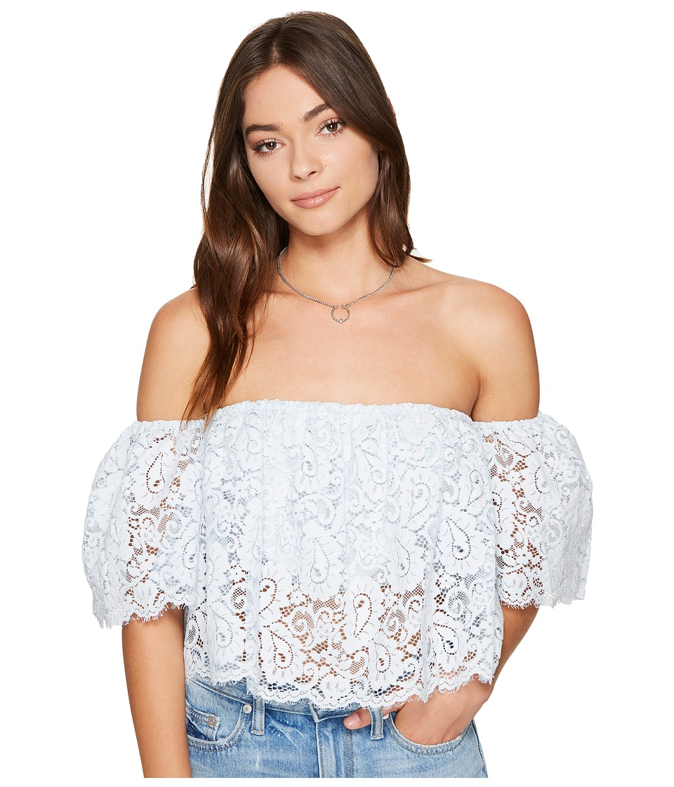 Lovers + Friends - Bayside Top (Pacific Blue) Women's Clothing