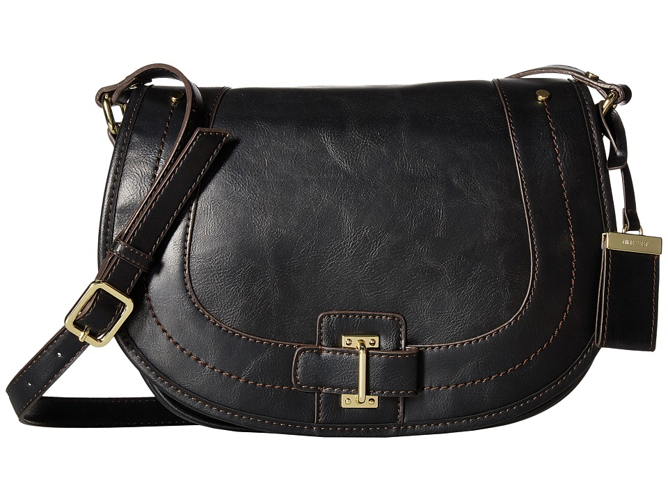 Nine West - In The Loop (Black) Handbags