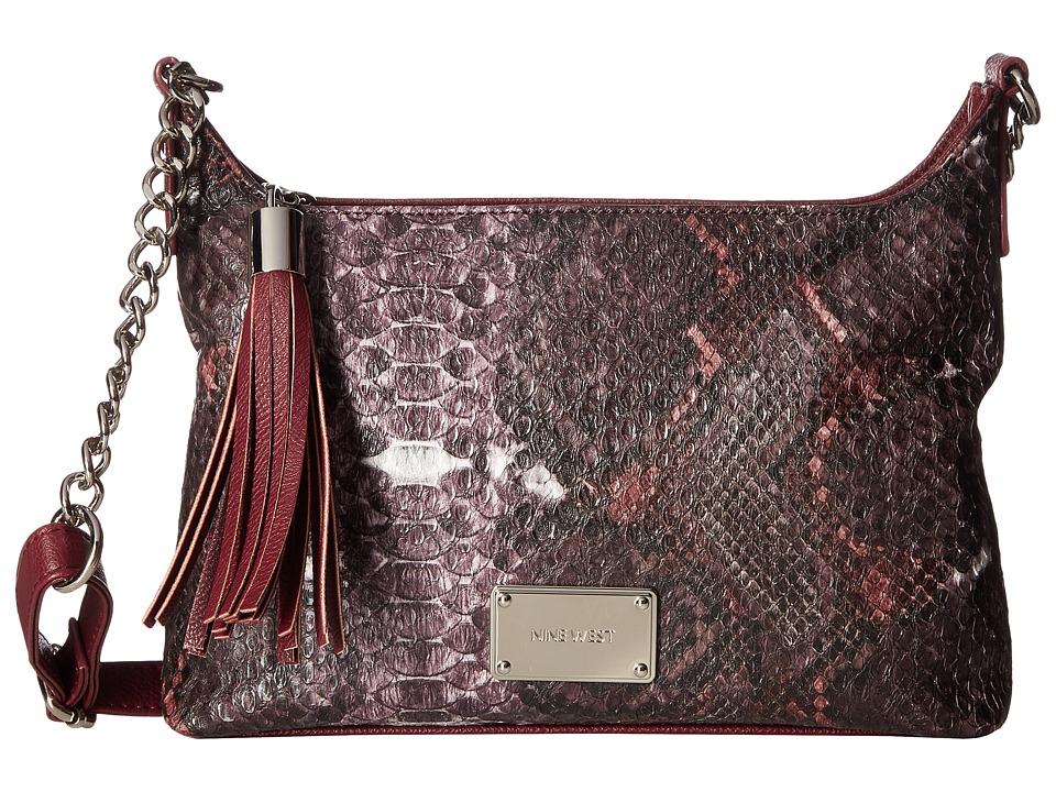 Nine West - Tasseled Medium Crossbody (Bourbon/Sable) Handbags