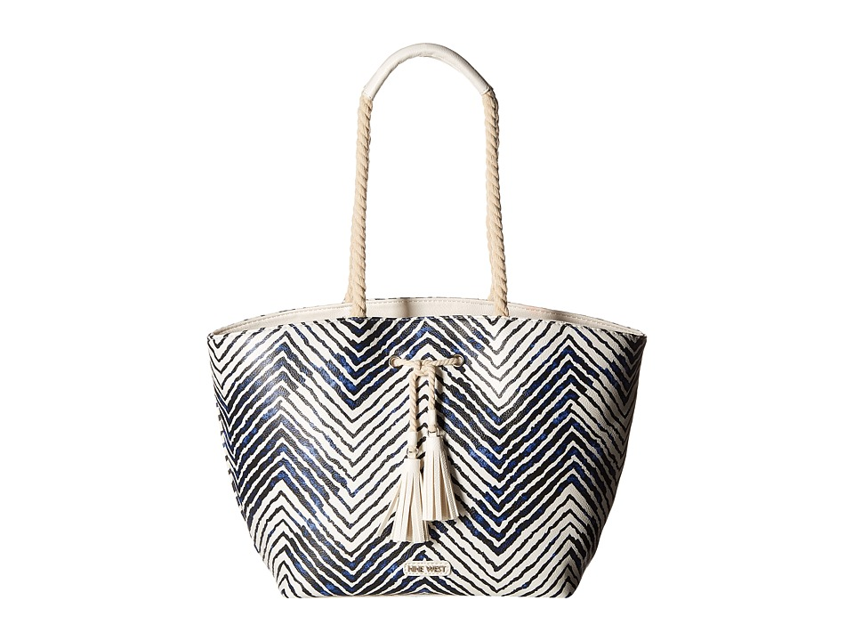 Nine West - Haute Days (India Ink/Snow Petal/Snow Petal) Handbags