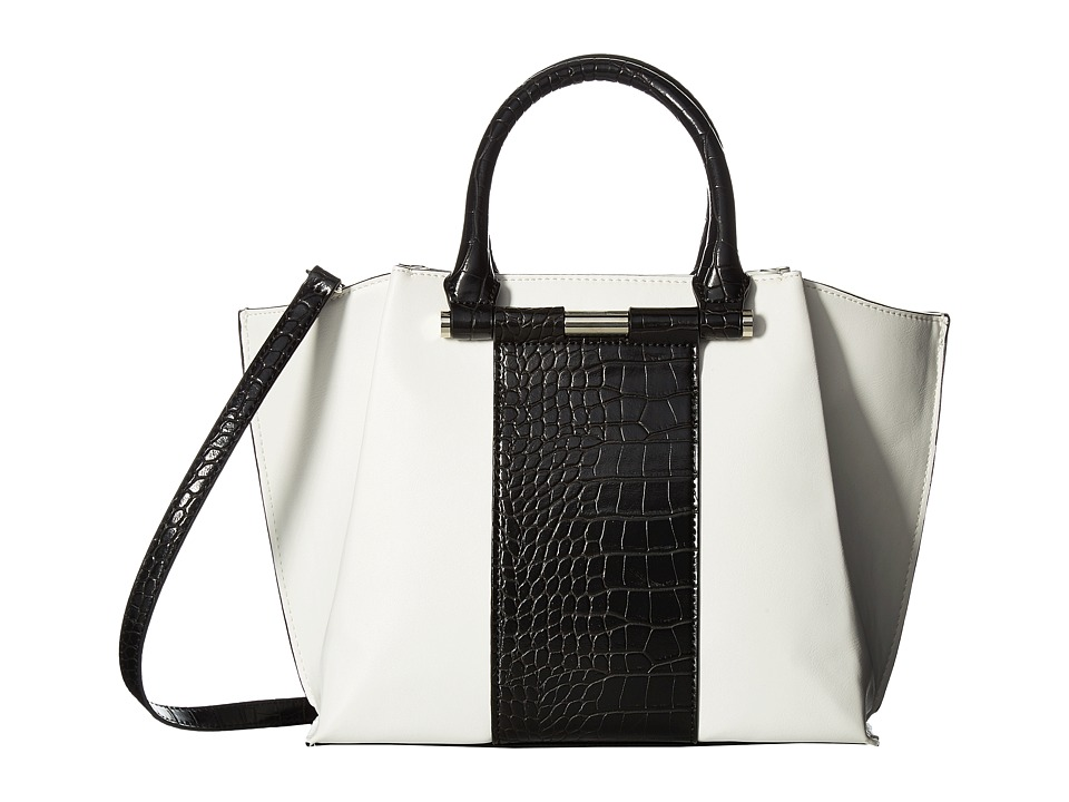 Nine West - Divide and Conquer (White/Black) Handbags