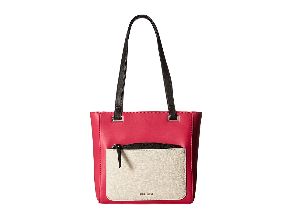 Nine West - Horina (Electric Fuchsia/Milk/Black) Handbags