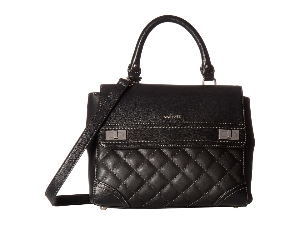 Nine West - Flip Lock (Black) Handbags