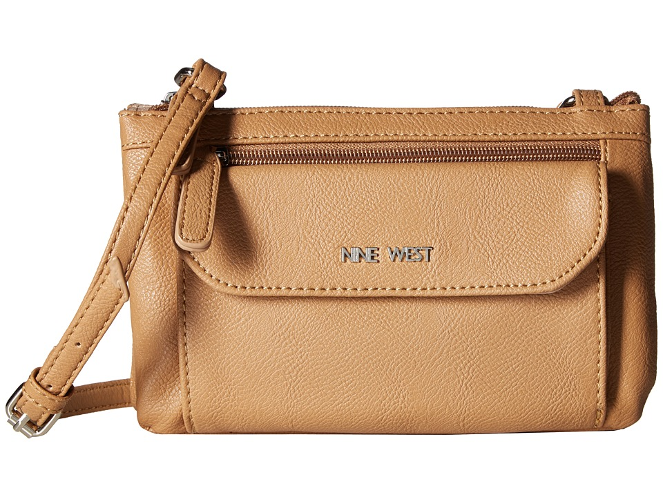 Nine West - Croc Pocket (Dark Camel) Handbags