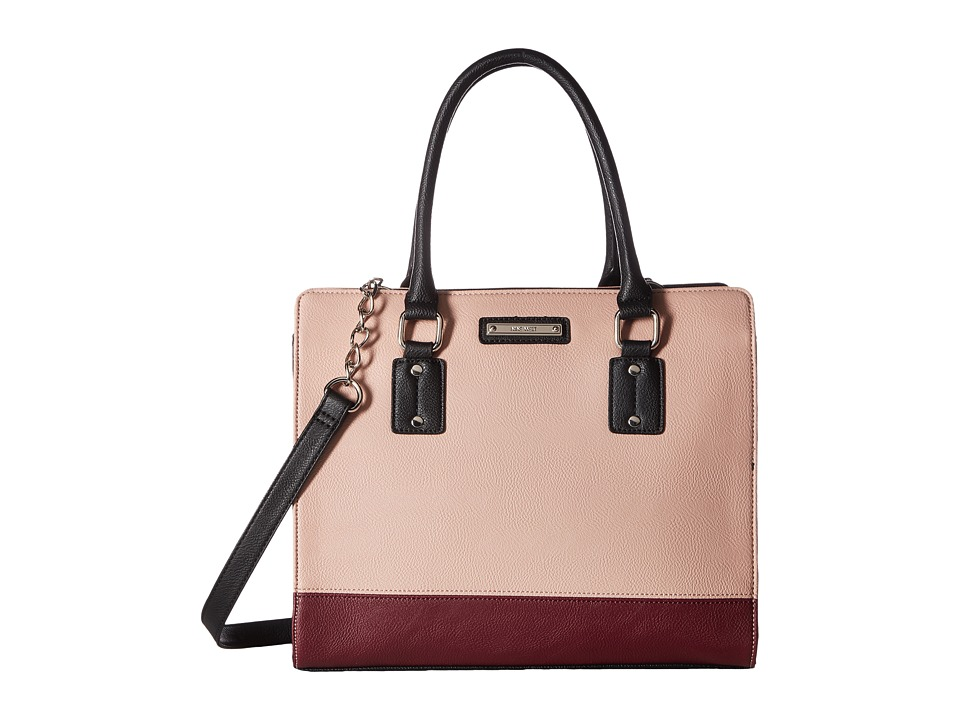 Nine West - You and Me Satchel (Crimson/New Mauve) Satchel Handbags