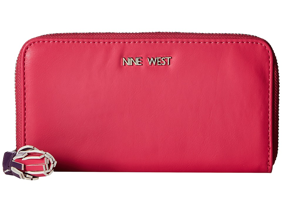 Nine West - Tis A Tassel SLG (Electric Fuchsia/Sugar Plum/Electric Fuchsia Tassel) Handbags