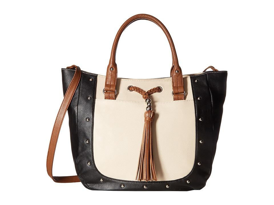 Nine West - Kenzie (Black/Toasted Oat/Tobacco) Handbags