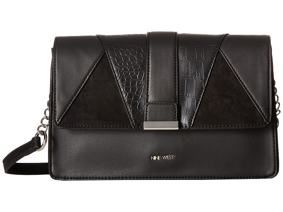 Nine West - Baldree (Black/Black/Black/Black) Handbags