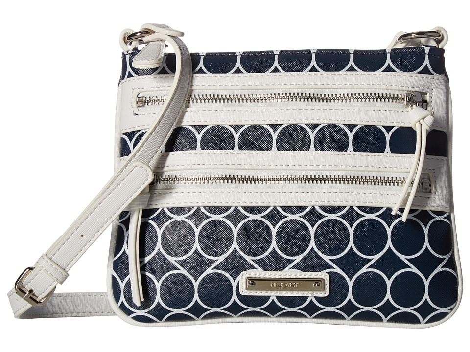 Nine West - Minnie (India Ink/Snow Petal) Handbags