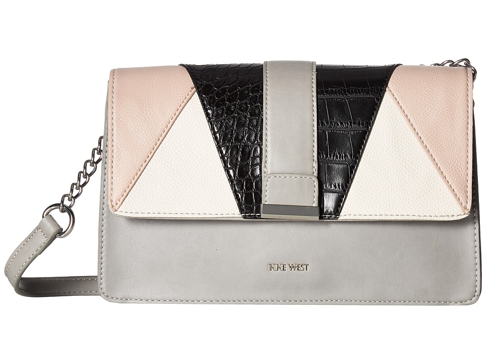 Nine West - Baldree (Mist/Blush/Milk/Black) Handbags