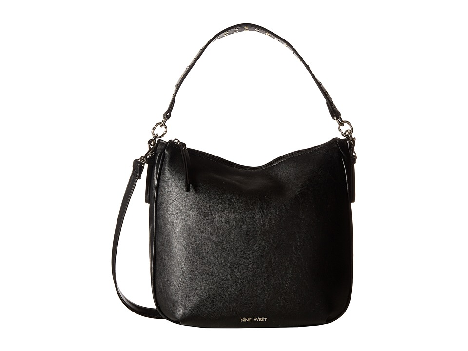 Nine West - Morna (Black/Studded Strap) Handbags