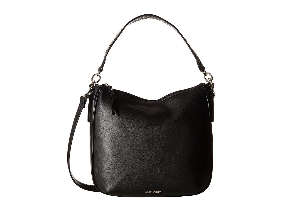 Nine West - Morna (Black/Studded Strap) Handbags