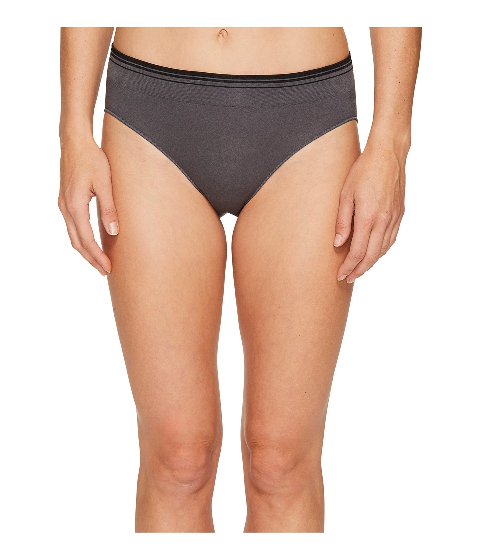 Jockey - Sporties Stripe Bikini (Jet Grey) Women's Underwear