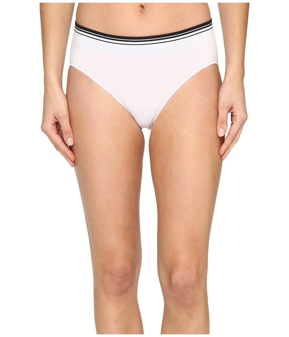 Jockey - Sporties Stripe Bikini (White) Women's Underwear