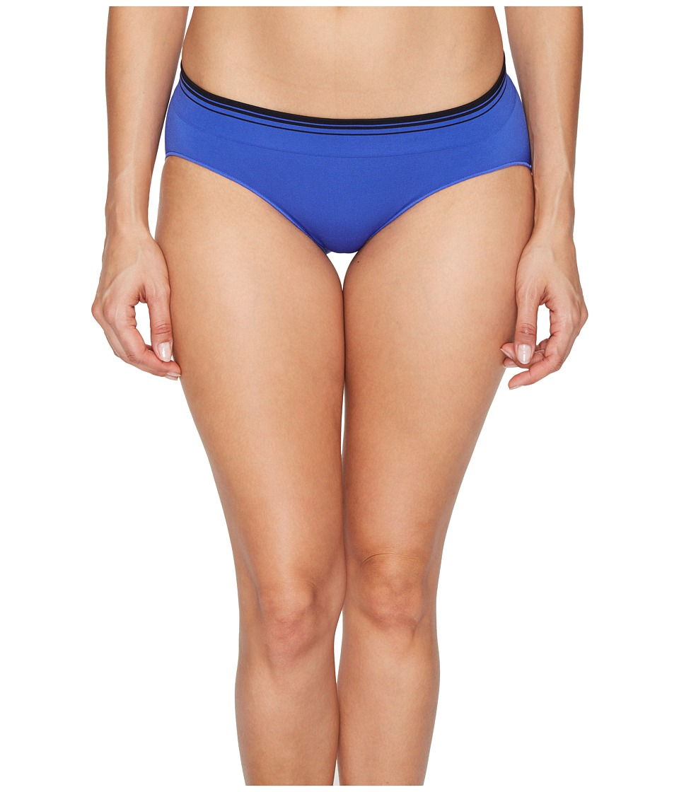 Jockey - Sporties Stripe Bikini (Intense Royal) Women's Underwear