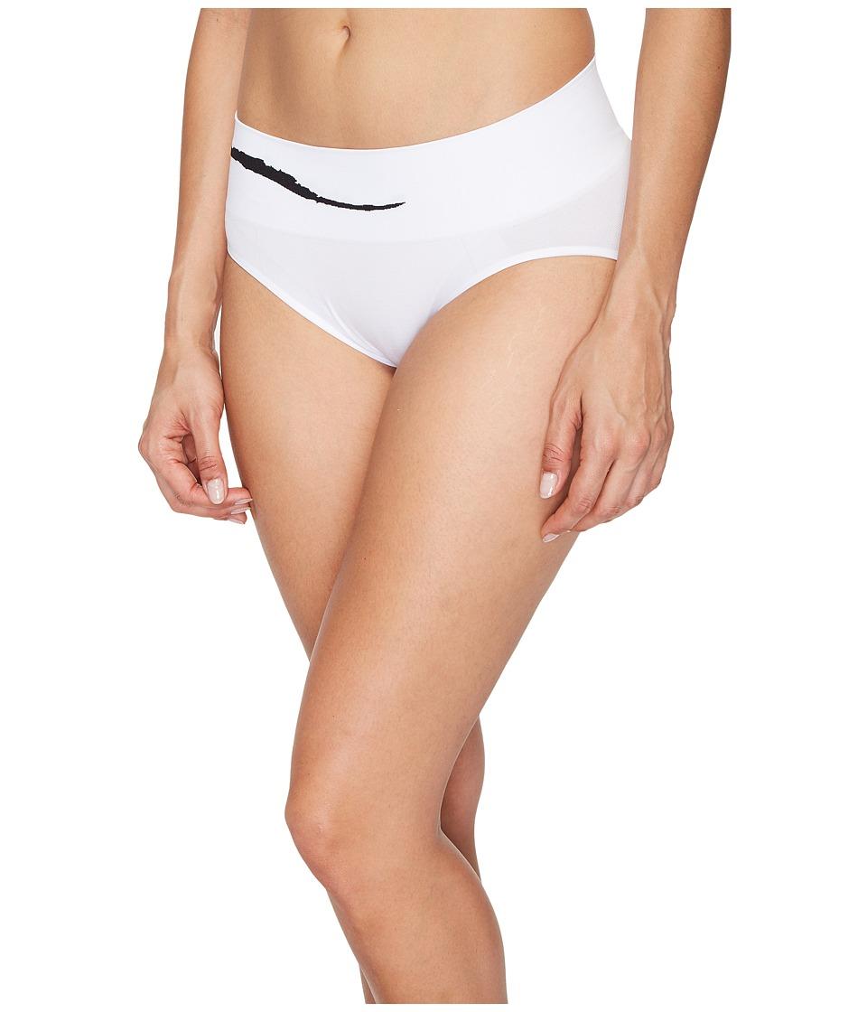 Jockey - Sporties Wave Hipster (White) Women's Underwear